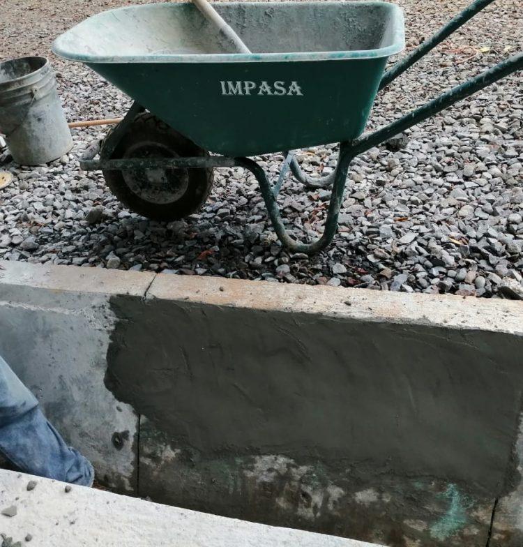 Aplicación de Strong Bond adhesivo acrílico en el proyecto Potabilizadora del IDAAN Los Algarrobos - Construventas 4